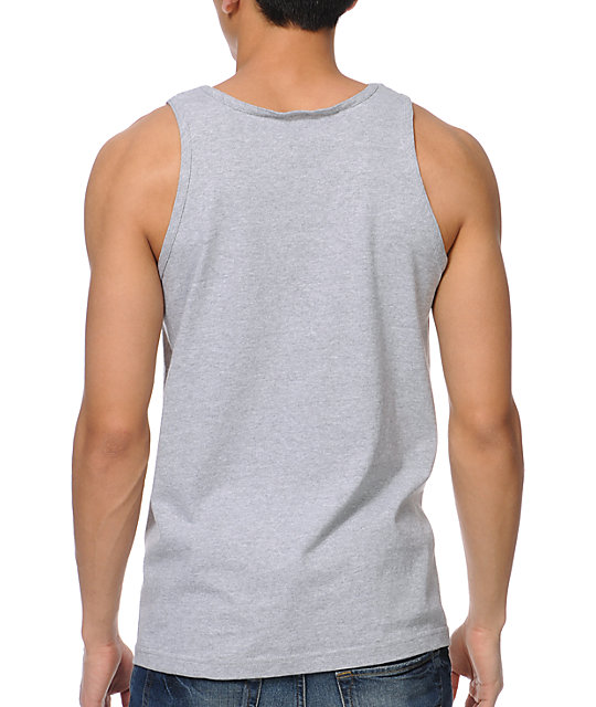 Diamond Supply Co No.1 Diamond Heather Grey Tank Top