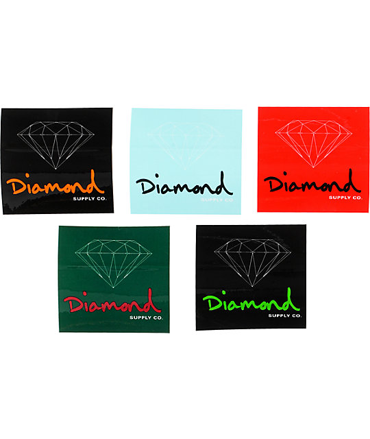 Diamond Supply Co OG Sign Sticker