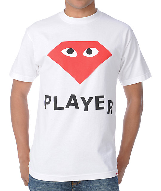 Diamond Supply Co Player White T-Shirt