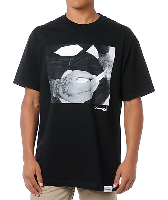 Diamond Supply Co Rollin Diamonds Black T-Shirt