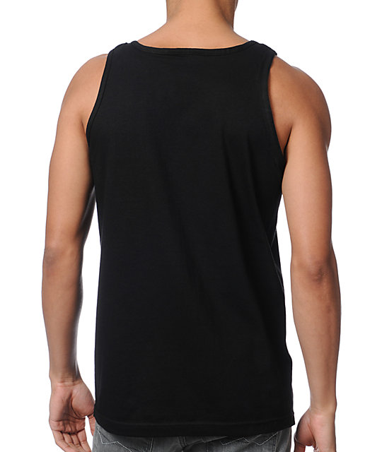 Diamond Supply Co Rollin Diamonds Black Tank Top