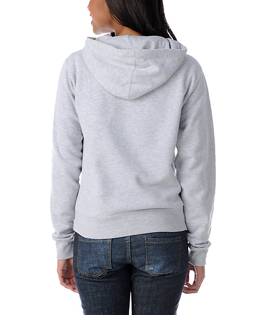 Diamond Supply Co Roots Grey Pullover Hoodie