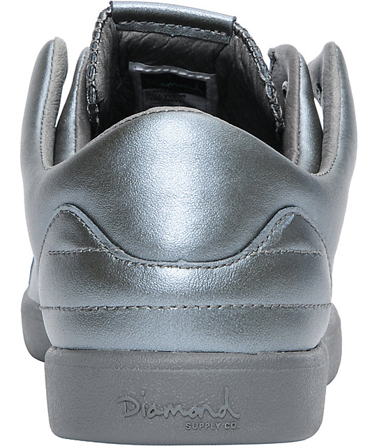 Diamond Supply Co VVS Charcoal Leather Shoes