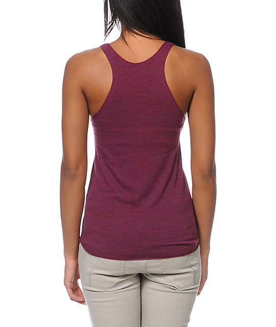 Diamond Supply Co White Space Crimson Tank Top