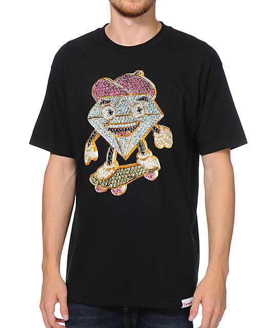 Diamond Supply Co X Ben Baller Lil Cutty Black T-Shirt