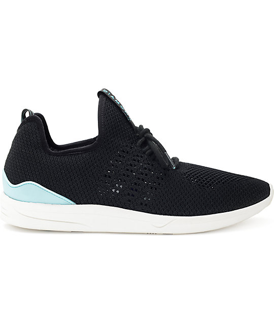 Diamond Supply Co. All Day Lite Black & White Knit Shoes
