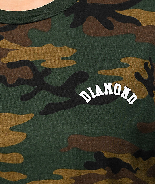 Diamond Supply Co. Arch Camo T-Shirt