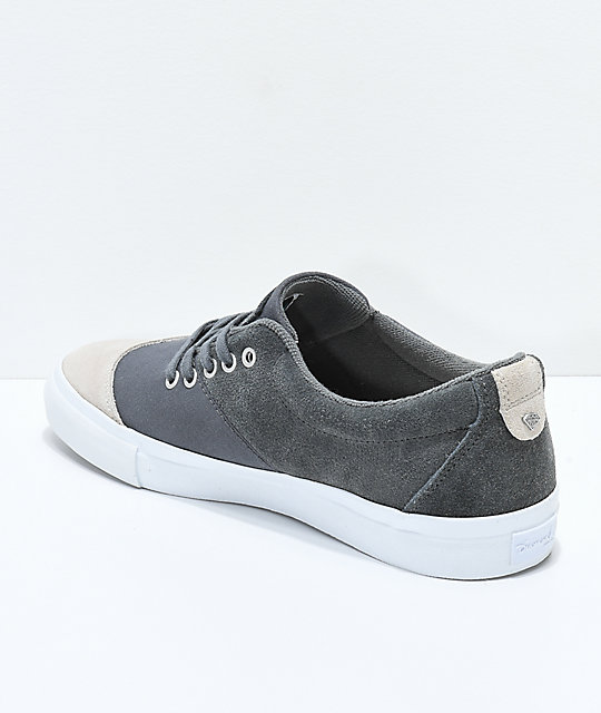Diamond Supply Co. Avenue Dark Grey & Tan Skate Shoes