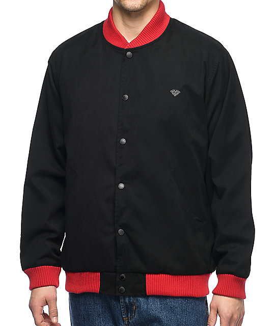 Diamond Supply Co. Blake Stadium chaqueta negra