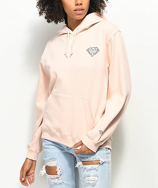 Diamond Supply Co. Boxed In Rose Hoodie