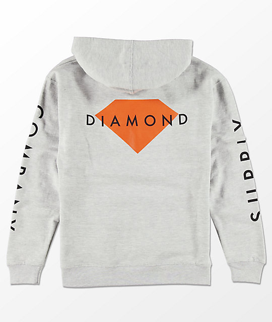 Diamond Supply Co. Boys Solid Stone Hoodie