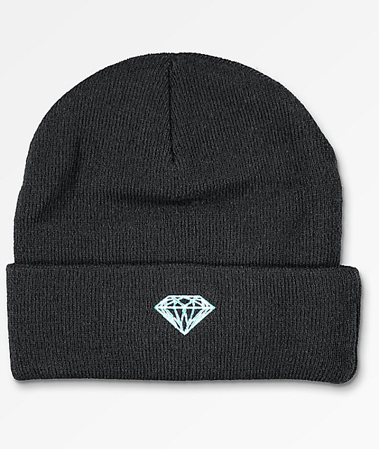 Diamond Supply Co. Brilliant Black Beanie
