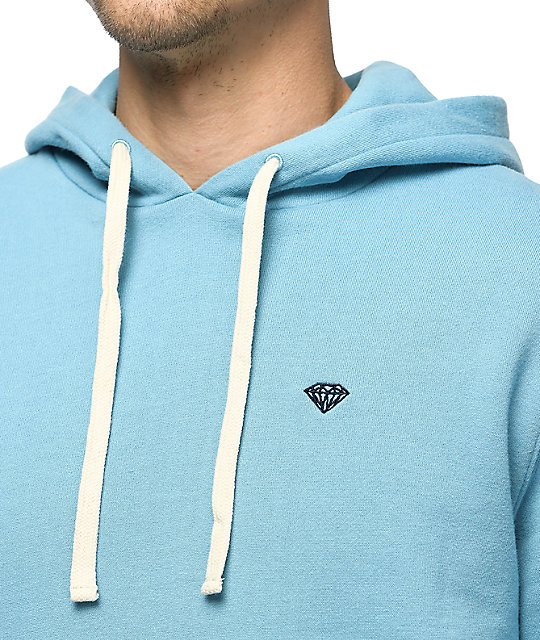 Diamond Supply Co. Brilliant Cruiser Light Blue Hoodie
