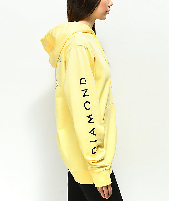 Diamond Supply Co. Brilliant Yellow Hoodie