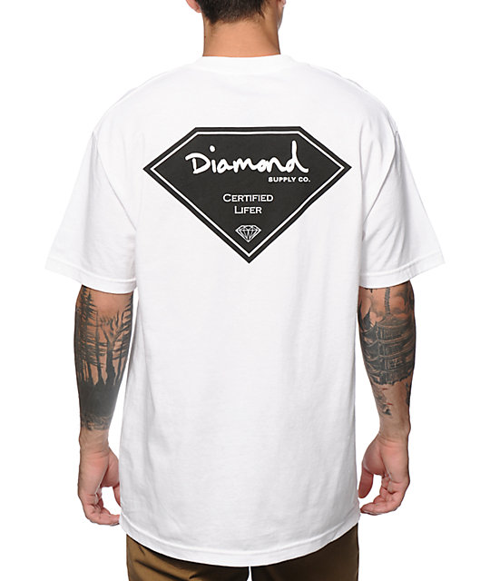 Diamond Supply Co. Certified Lifer T-Shirt