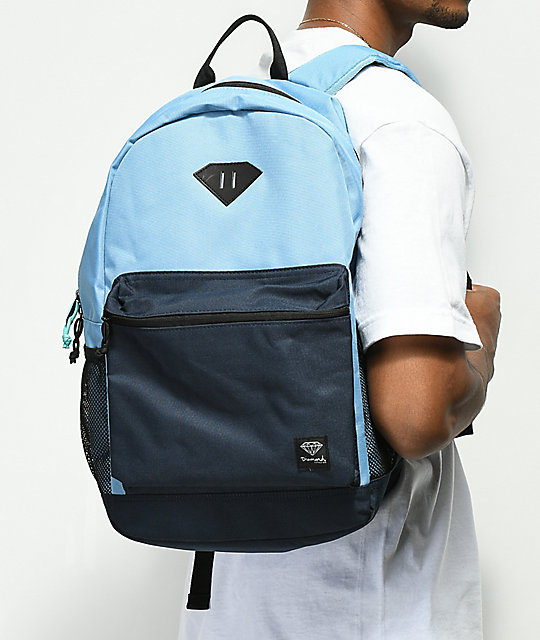 Diamond Supply Co. Cutlet Navy Backpack
