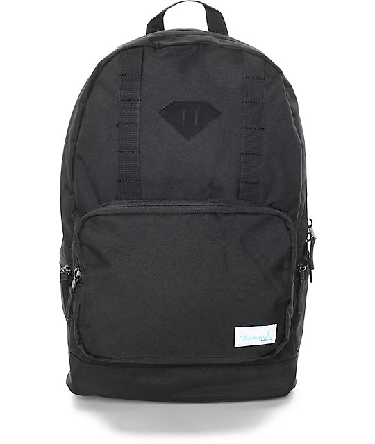 Diamond Supply Co. DL Black Backpack
