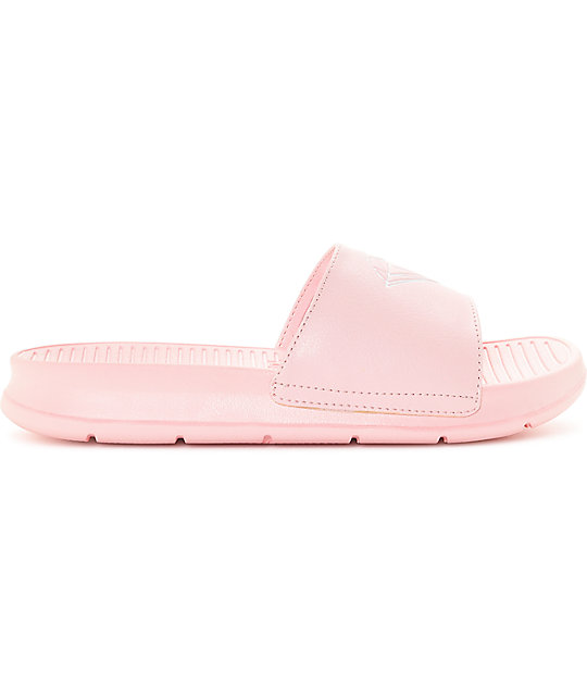 ff36fcc0a0f9 Diamond Supply Co. Fairfax Dusty Pink Slide Sandals