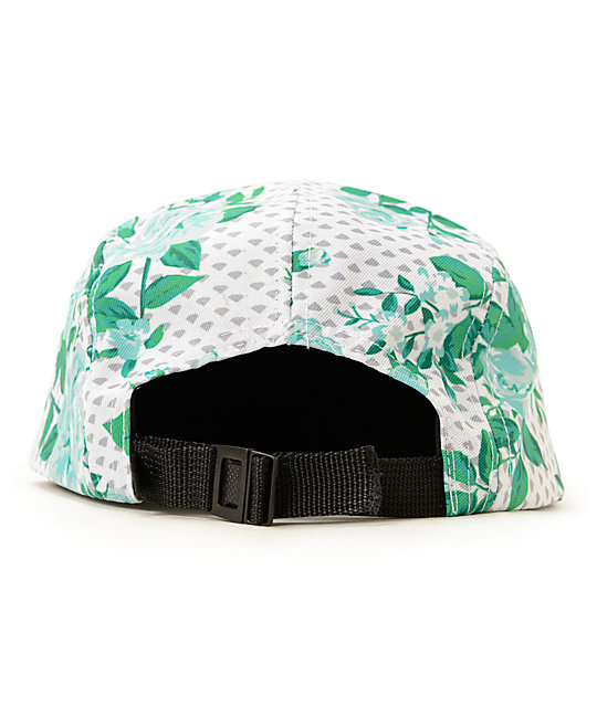 Diamond Supply Co. Floral Dot 5 Panel Hat