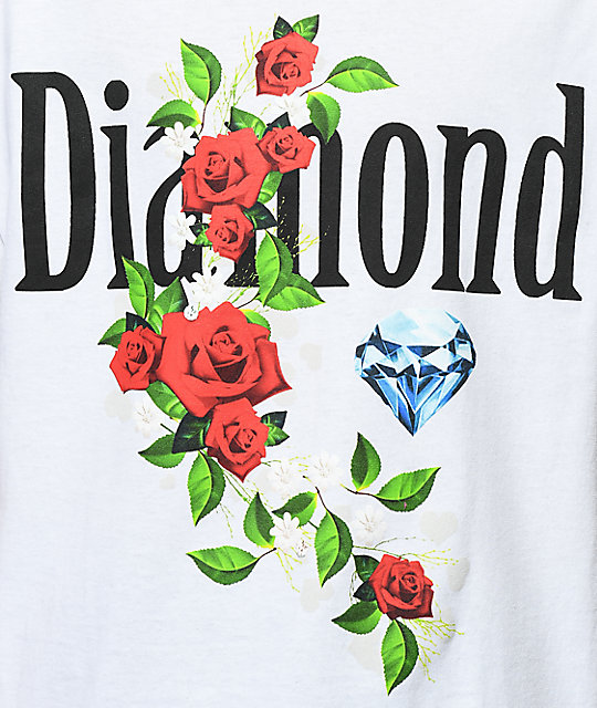 Diamond Supply Co. Garden Jewel White T-Shirt