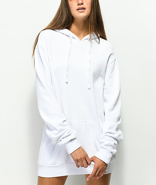 Diamond Supply Co. Garden sudadera con capucha blanca