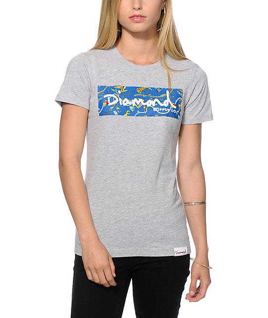 Diamond Supply Co. Low Life Box Logo T-Shirt | Zumiez