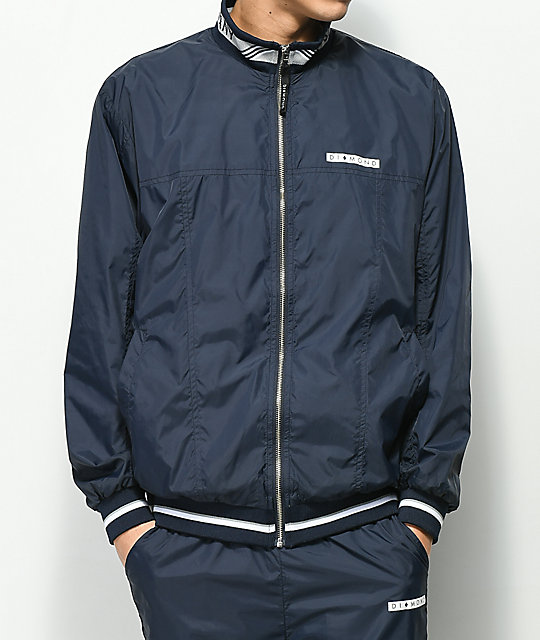 Diamond Supply Co. Marquise Navy Track Jacket