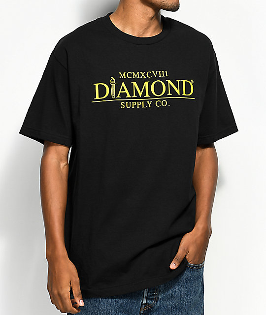 Diamond Supply Co. Mayfair Black T-Shirt