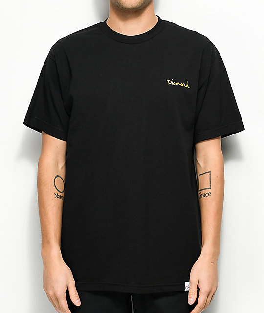 Diamond Supply Co. Mini OG Script Black T-Shirt