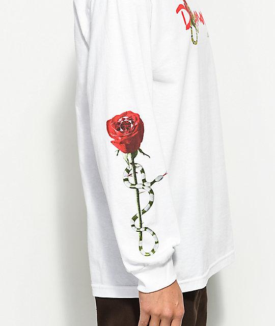 66676b92 Diamond Supply Co. OG Snake White Long Sleeve T-Shirt | Zumiez