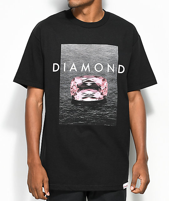 Diamond Supply Co. Pink Spectrum camiseta