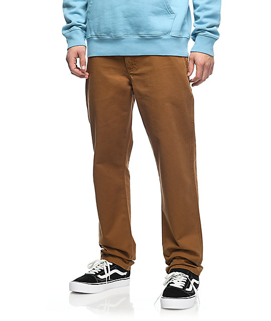 Diamond Supply Co. Speedway Brown Pants