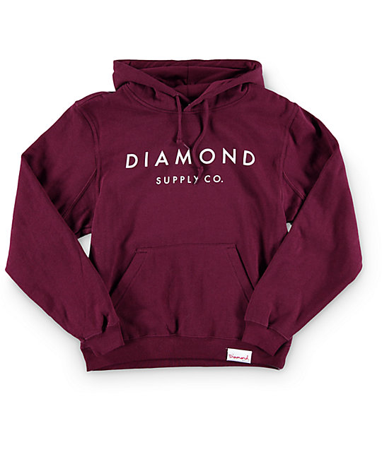Diamond Supply Co. Stone Cut Hoodie
