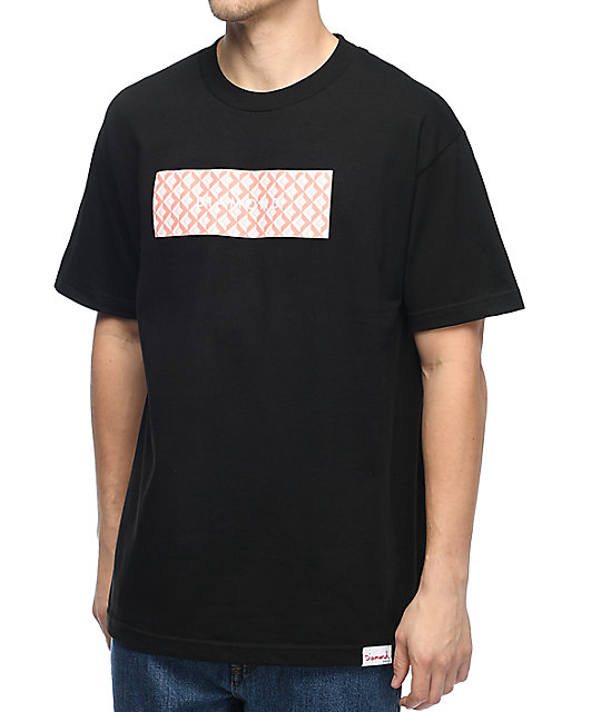 Diamond Supply Co. Tiles camiseta negra