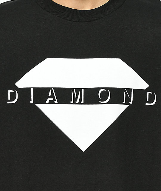 Diamond Supply Co. Viewpoint camiseta negra