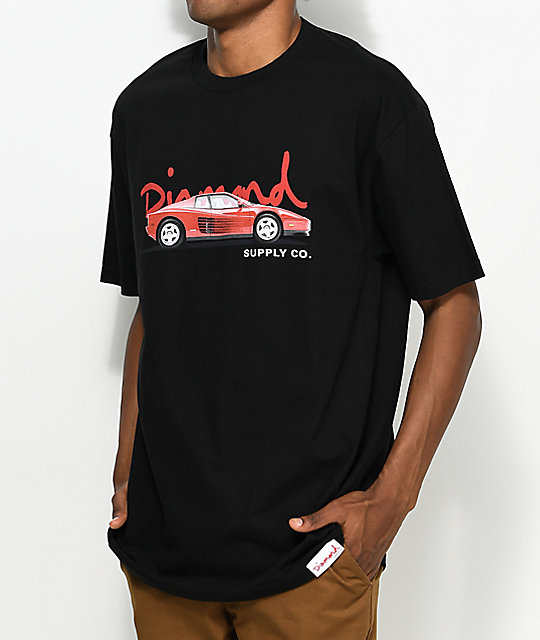 Diamond Supply Co. Vroom Vroom Black T-Shirt