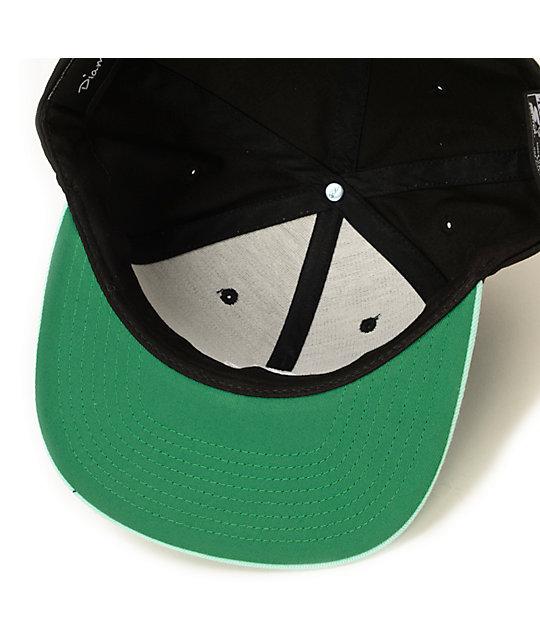 9bb9c31df87 ... uk x grizzly og logo black snapback hat diamond supply co. x grizzly og  logo