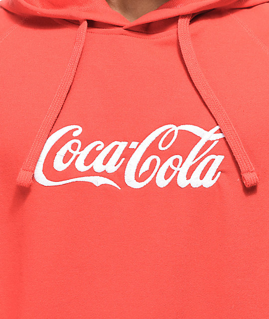 Diamond Supply Co. x Coca-Cola Photo Red Hoodie