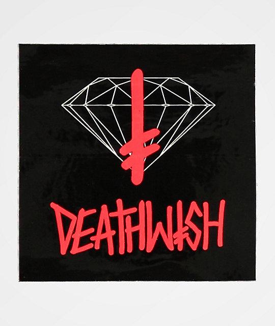 d58ea6ecf31 Diamond Supply Co. x Deathwish Sign Sticker
