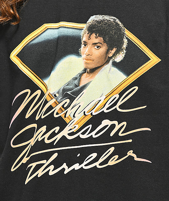 Diamond Supply Co. x Michael Jackson Thriller camiseta negra