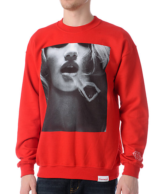 Diamond Supply Smoke Ring 2 Crew Neck Sweatshirt