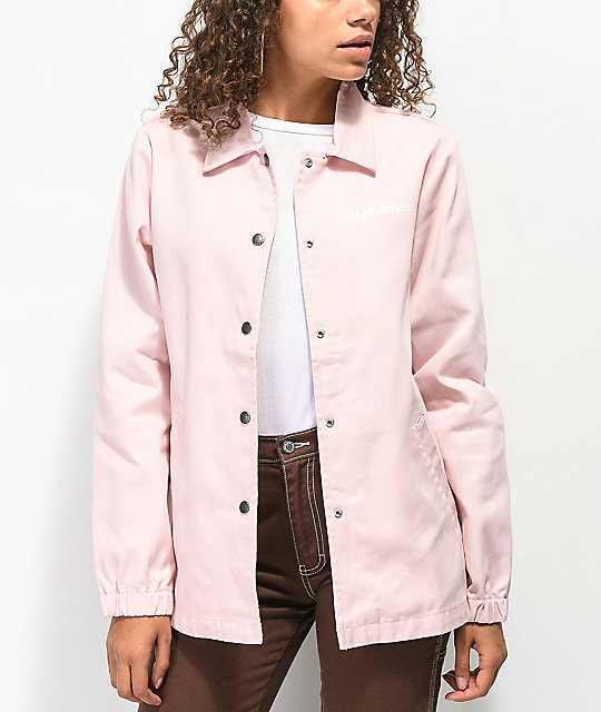 Dickies '67 Pink Twill Coaches Jacket