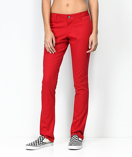 Dickies 4 Pocket Red Work Pants