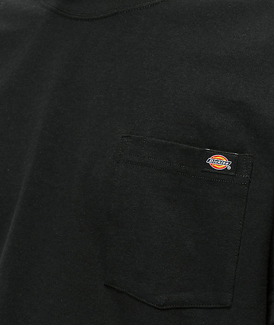 Dickies Black Heavyweight Pocket T-Shirt