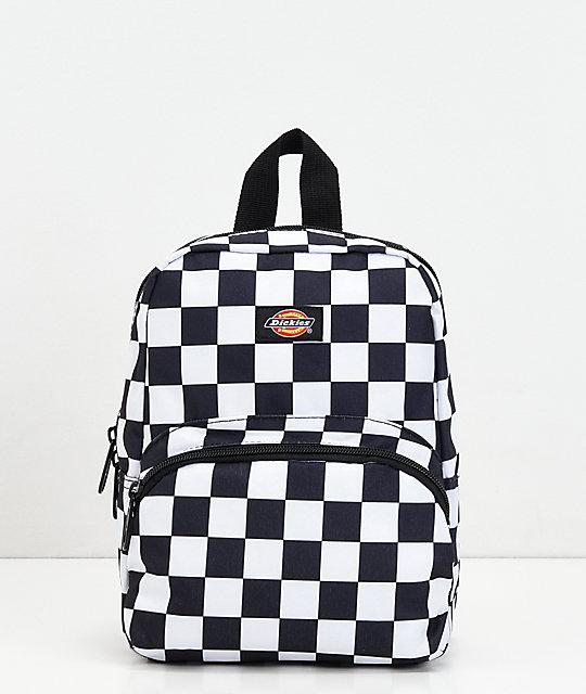 e1b432a2e Dickies Checkerboard Black & White Mini Backpack | Zumiez.ca