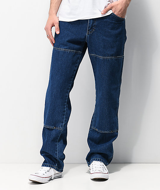 ad7d5df4b30 Dickies Double Knee Six Pocket Work Jeans
