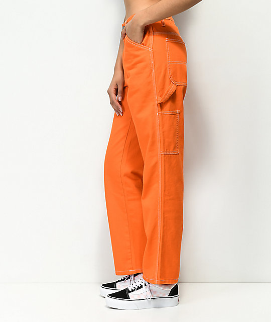 Dickies Orange Carpenter Pants