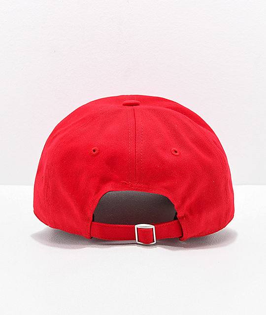 Dickies Red Strapback Hat