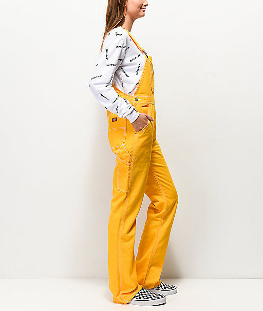 Dickies Twill Yellow Overalls