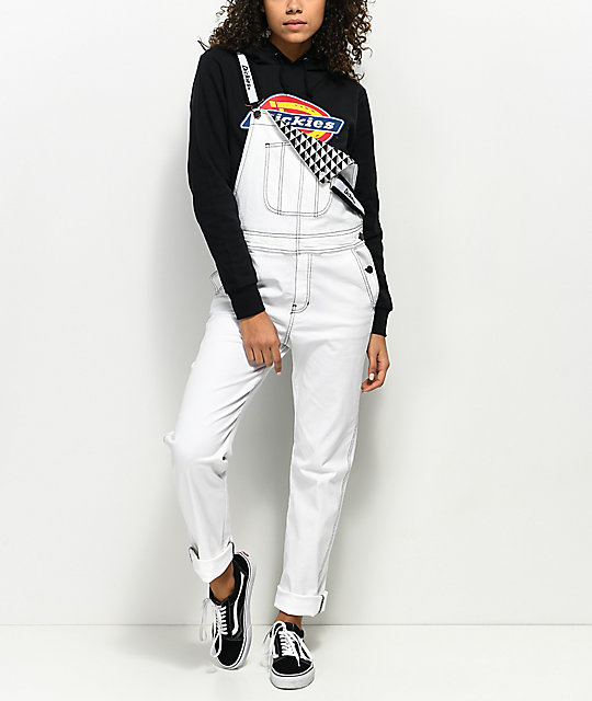 latest discount outlet amazon Dickies White Overalls